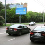 26  Бакинских комиссаров улица, дом 3, корпус 1    универсам «Магнит», магазин «Продукты», билборд 6х3, Статика, сторона B