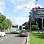 26  Бакинских комиссаров улица, дом 3, корпус 1    универсам «Магнит», магазин «Продукты», билборд 6х3, Статика, сторона A