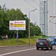26-ти Бакинских Комиссаров ул., д. 5, билборд 6х3, Статика, сторона B